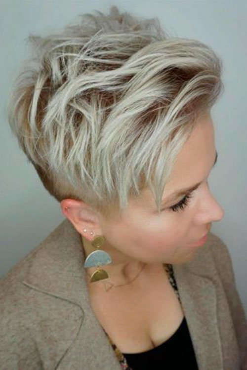 Textured Pixie Hairstyle
