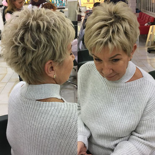 Textured Pixie Cut