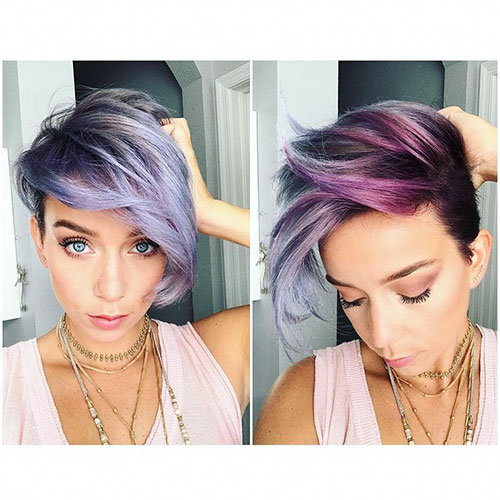 Pixie Cut Purple