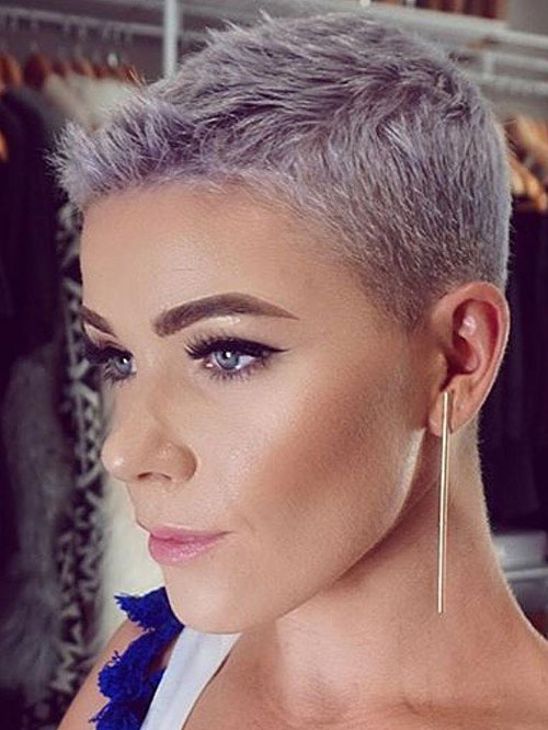 20 Grey Pixie Styles That Reflect Personality Pixie Cut